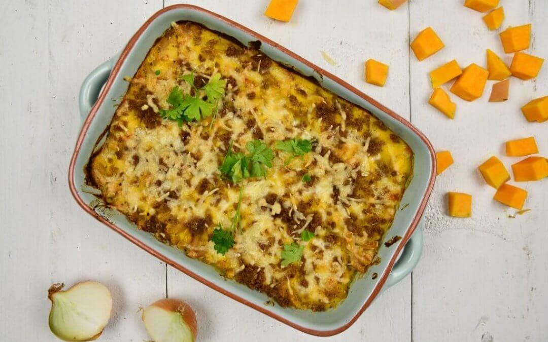 Mac & cheese met pompoen