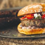 Veggie & Vegan hamburgers: kastanje-paddenstoelen-pastinaakpatty