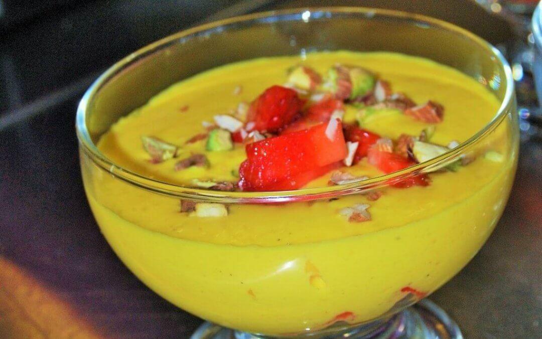 Indiase keuken: zelf shrikhand met mangosmaak maken