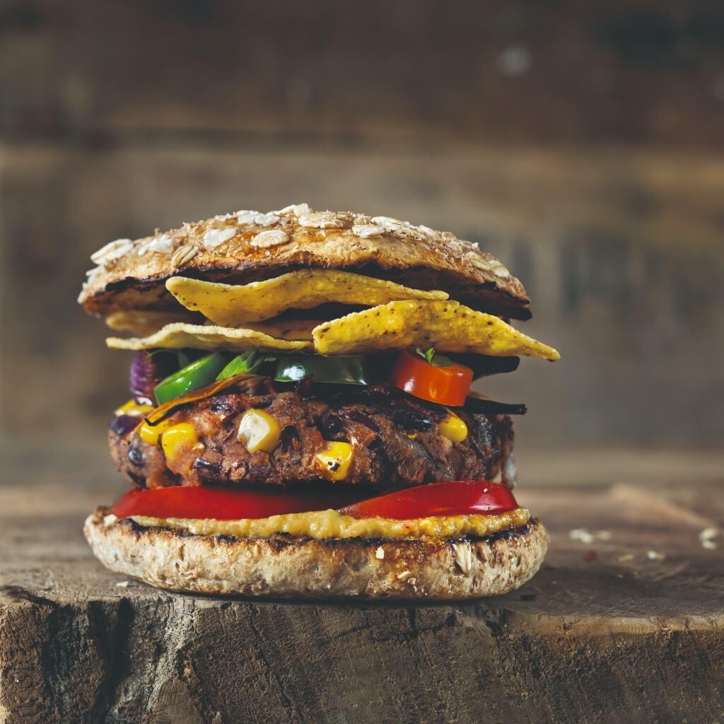 Veggie & Vegan hamburgers: Texaanse burger