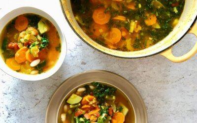 Kom de winter door met deze vegan immuun booster soep