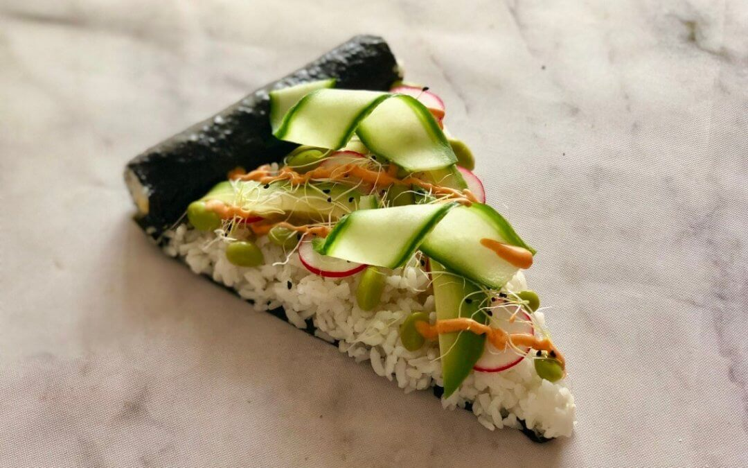DIY TREND: sushi pizza