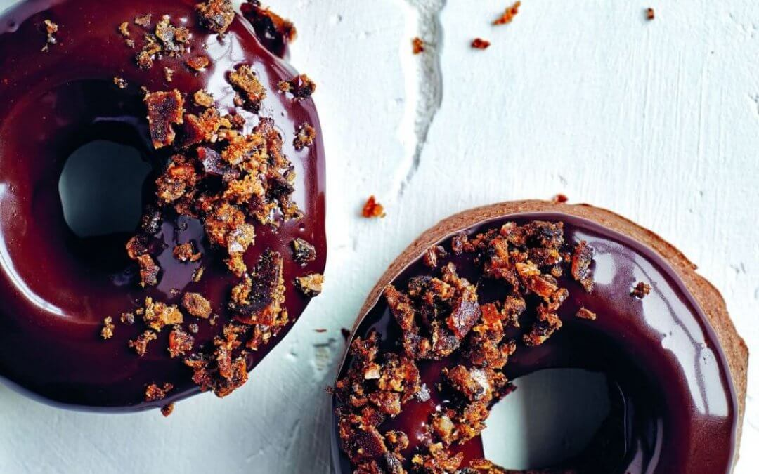 Sinner Saturday: chocolade-stoutbierdonutsmet chipotle-stoutbierpraliné