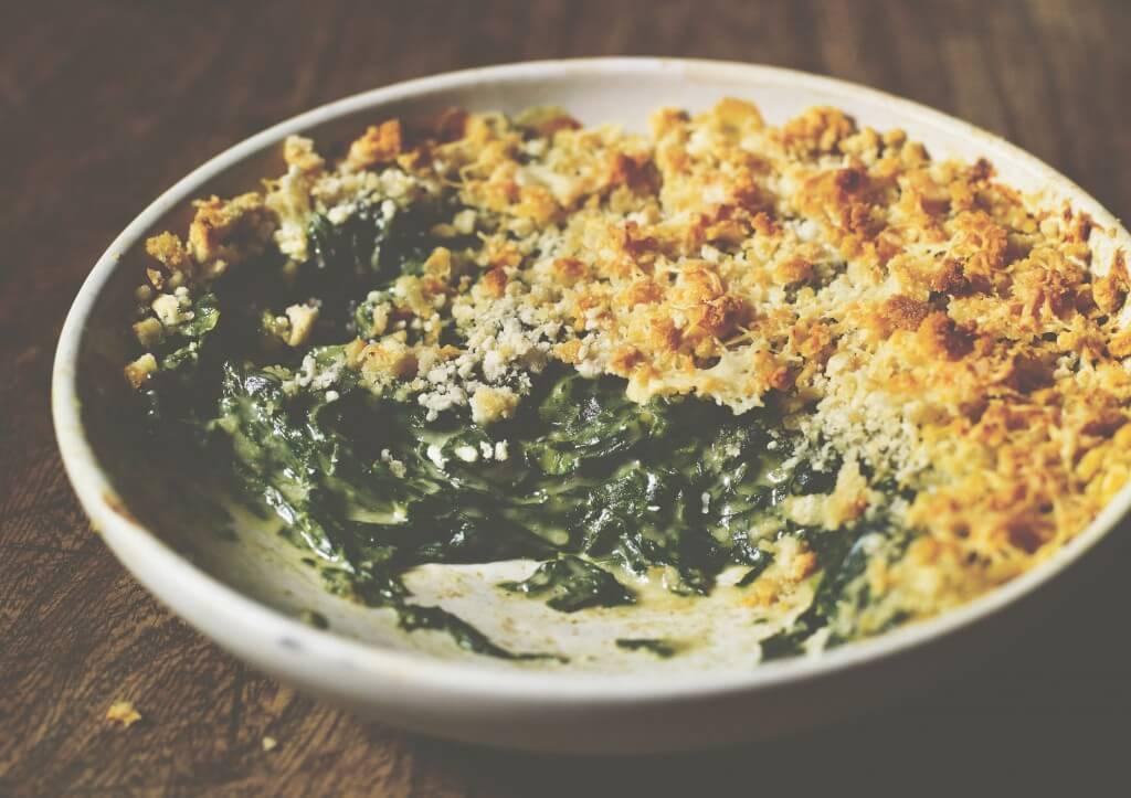 Time 'een jaar en dag in de keuken': romige spinazie