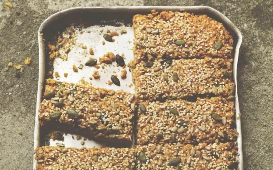 Time  – een jaar en dag in de keuken: havermoutrepen met pitten & zaden