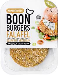 Vleesvervanger getest: BOON Burgers falafel