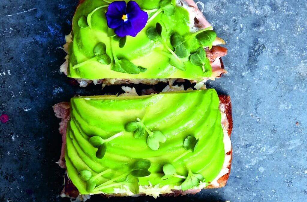 The Avocado Show: toast met avocado, vega kip en homemade truffelmayo