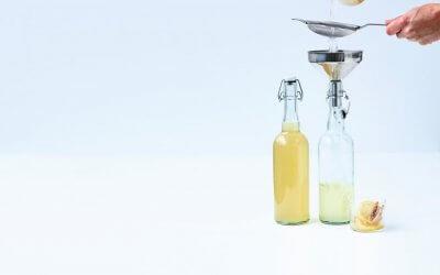Hoe maak je zelf thuis: fruit kefir