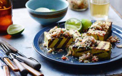 Barbecue: Tofusteaks met verse sambal