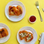De ultieme Koningsdag snack: oranje paprika tosti's