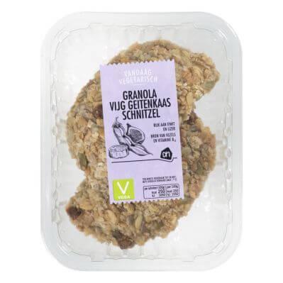 Getest: AH granola vijg-geitenkaas schnitzel