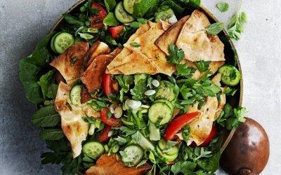 Kookboek Salade: Fattoush