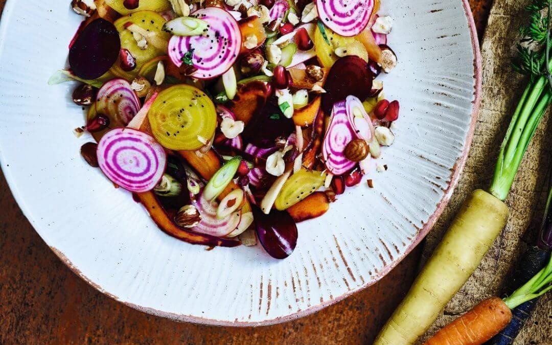 Vegan Monday: rauwe salade van wortelgroenten