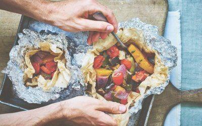 Vegan monday: Marokkaans groentepakketje uit de oven
