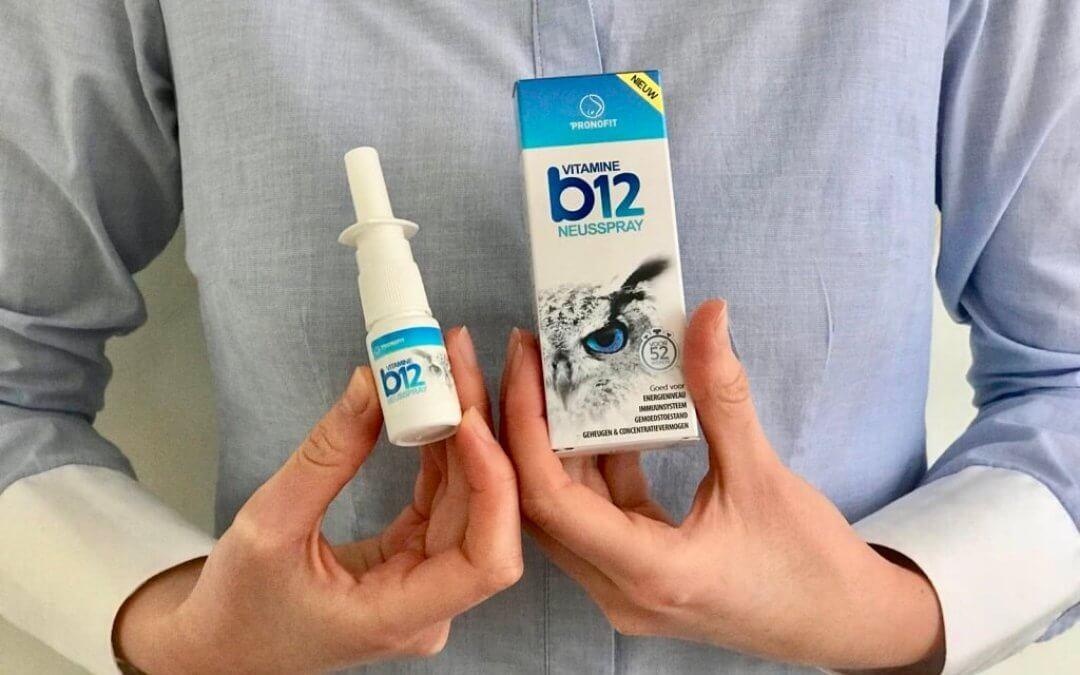 Ik gebruikte vitamine B12 neusspray en dit ervaarde ik