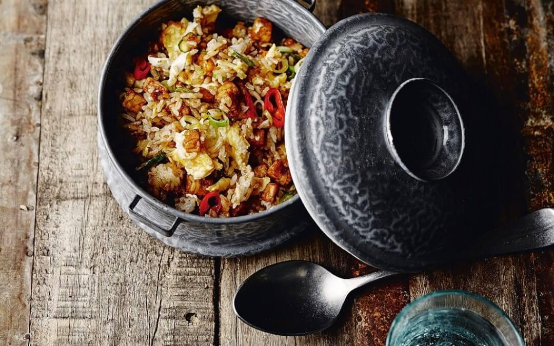 De Indonesische keuken: nasi goreng tempé