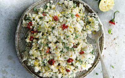 Kookboek Salade: bloemkoolsalade
