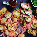 Barbecue: patatas bravas