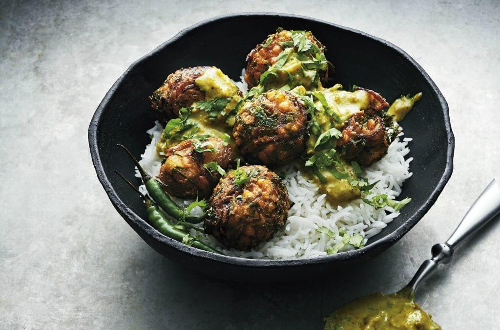 Vega curry: Linzen kofta