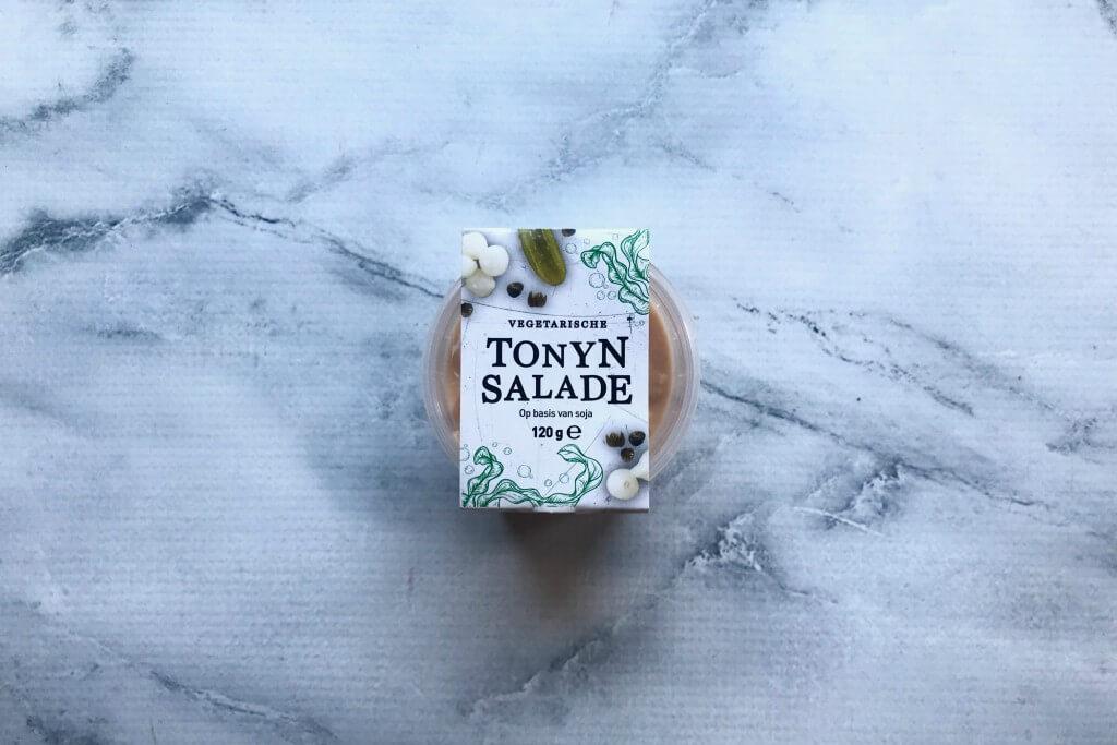 Vleesvervanger getest: De Vegetarische Slager Tonyn salade