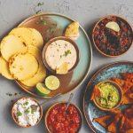 Dips: nachochips en quesodip