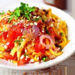 De Maleisische keuken: mangosalade