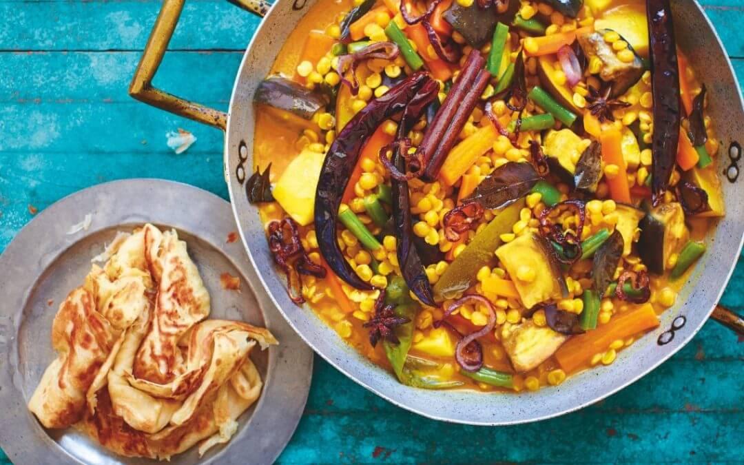 De Maleisische keuken: Maleisische dahlcurry met groente