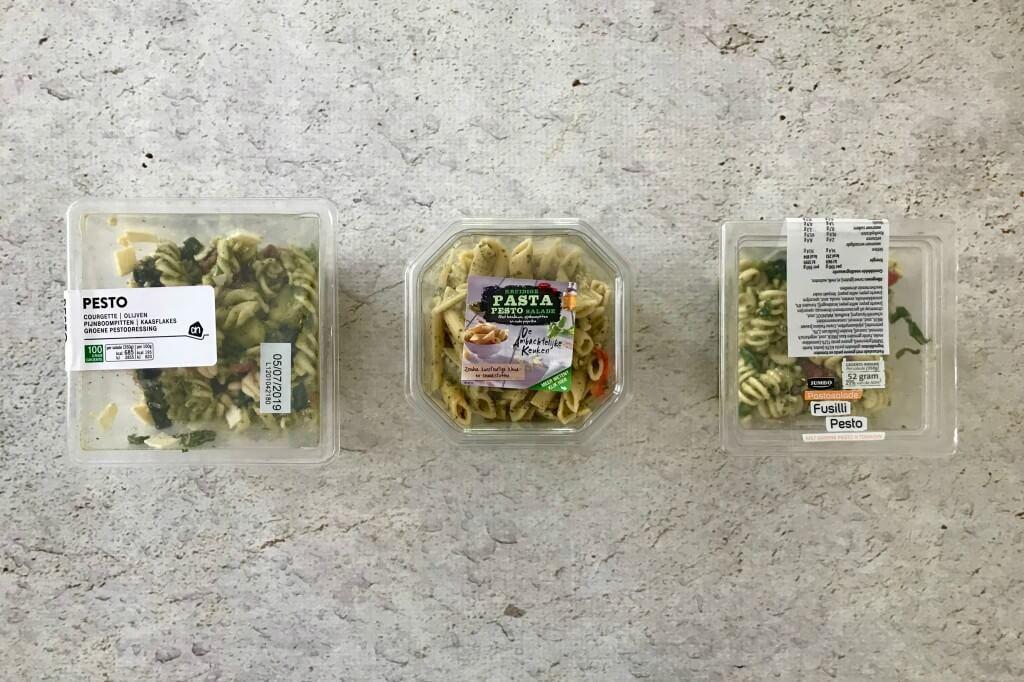Welke supermarkt heeft de lekkerste: pasta pesto