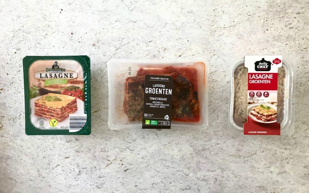 Welke supermarkt heeft de lekkerste: lasagne