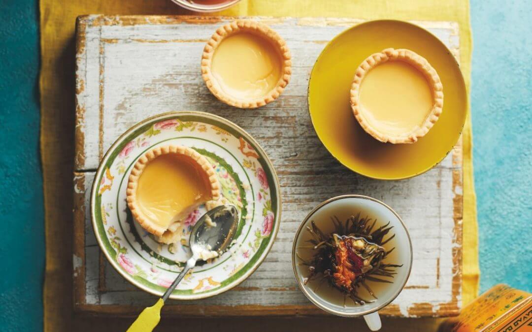 De Chinese keuken: Chinese custardtaartjes