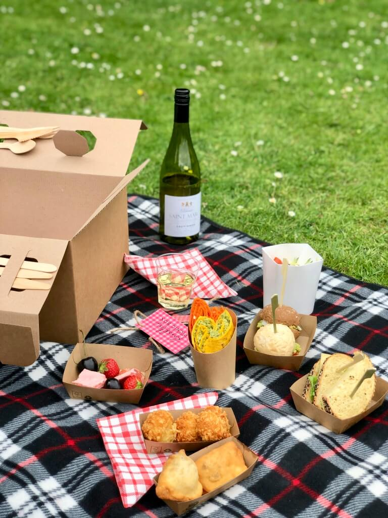 Picknicken in Rotterdam met Karakter's picknick box