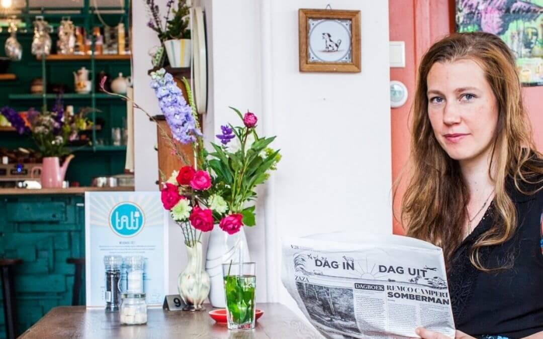 """Janine Kuiper van restaurant Tati: """"Mensen moeten bewuster met eten omgaan."""""""