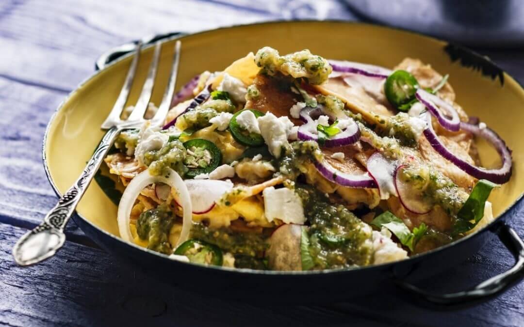 De Tex-Mex keuken: chilaquiles
