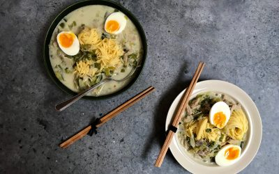 Vega budget: Thaise vegetarische kippensoep