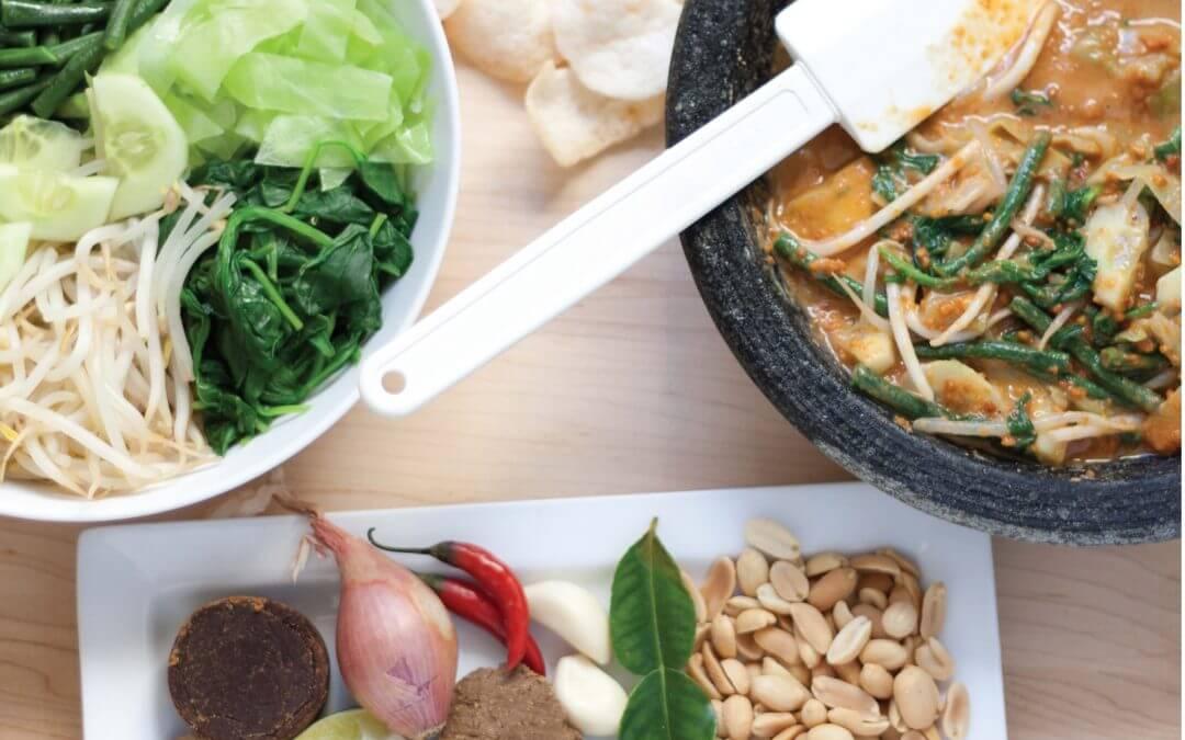 De Indische keuken: Lotek