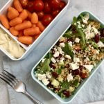 Vegetarische lunch: bulgursalade met kruidendressing