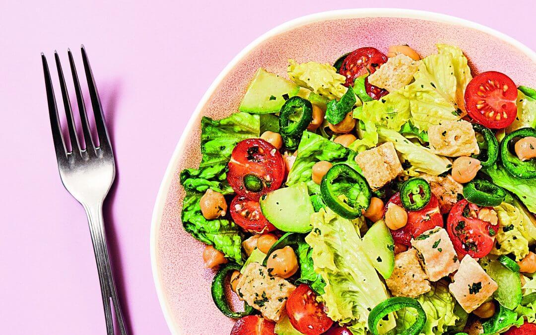 7 minuten in de keuken – Veggie: Libanese salade