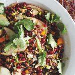 Rijst & Co: boudoirsalade met rijst en korianderdressing