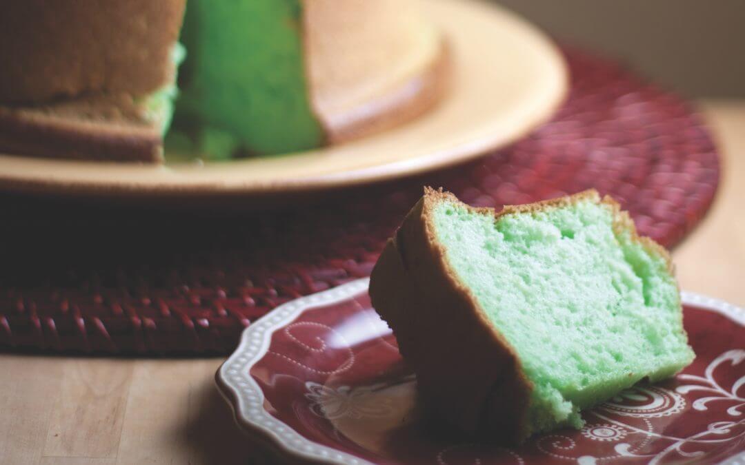 De Indische keuken: pandan cake