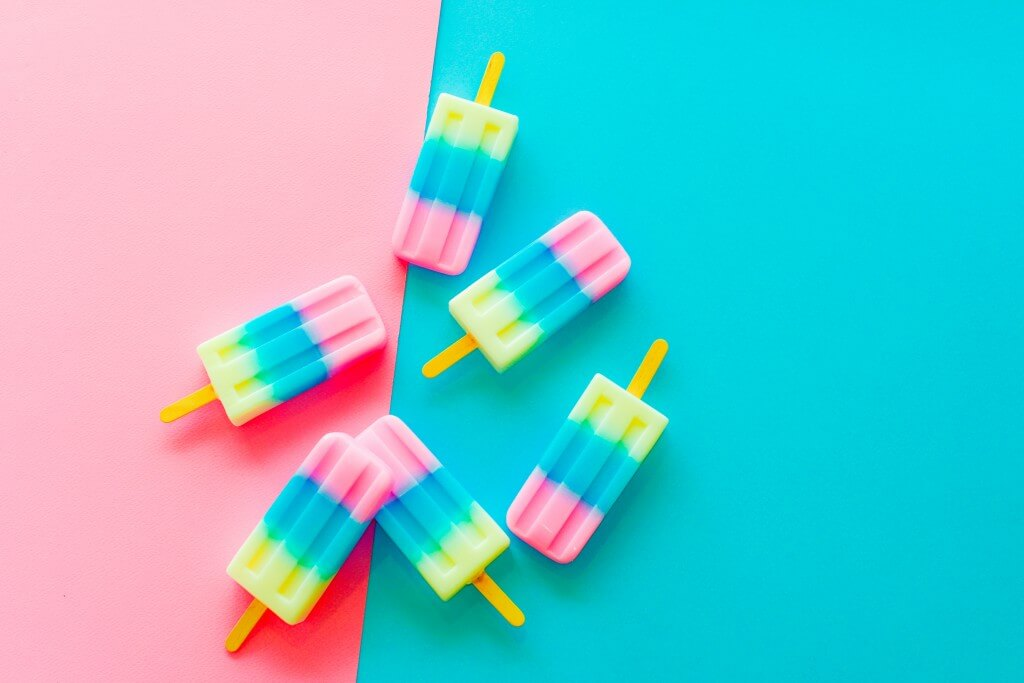 Welk merk heeft het lekkerste: fruit ijsje onder de 100 kcal?
