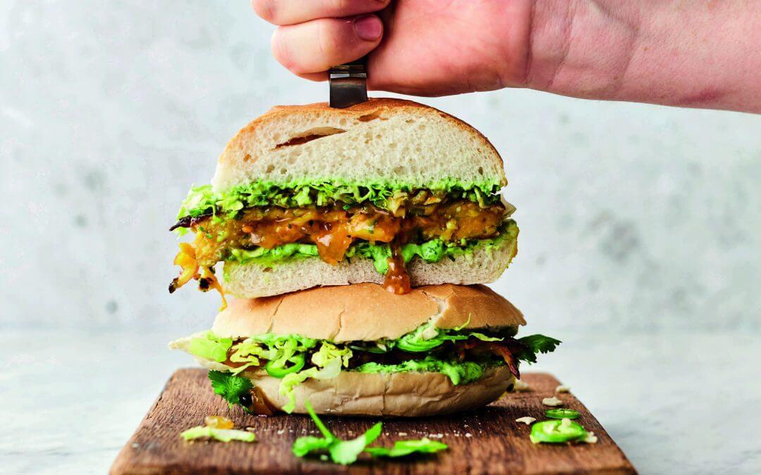 Jamie Oliver's VEG! briljante Bhaji burger