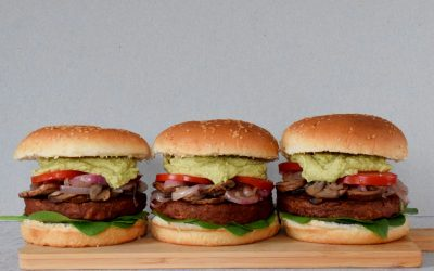 Plantaardige Quorn Supreme burger boordevol eiwitten