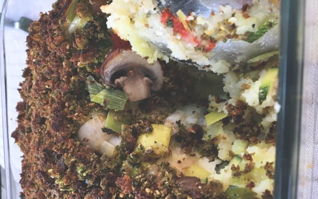 Lezersrecept: Knapperige aardappel-groentenschotel