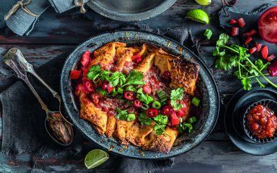 De Mexicaanse keuken: enchiladas rojas