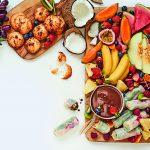 Van de plank: tutti frutti borrelplank
