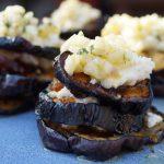 Lezersrecept: geroosterde aubergine torentjes
