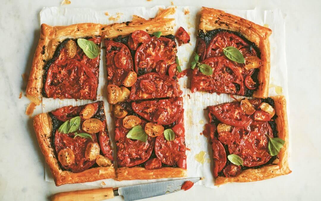 De Provençaalse keuken: tomatentaart met tapenade