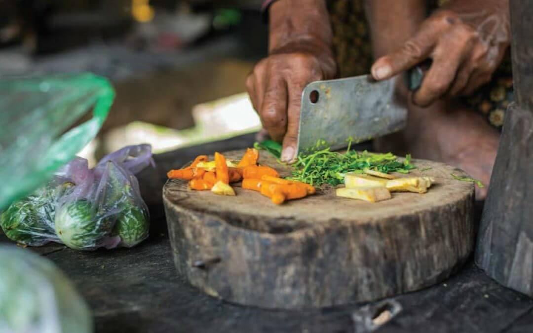 De Cambodjaanse keuken: kroeungpasta
