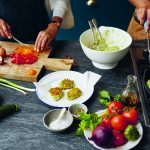 De Cypriotische keuken: courgettekeftedes
