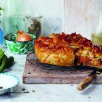 De Cypriotische keuken: filotaart met pompoen, bulgur en rozijnen